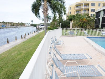 View of Gulf, large heated pool, bring your boat!