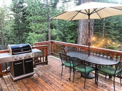 Photo for Hike or bike out the back door into forest, near Lake. HOT TUB on deck