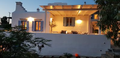 Photo for VILLA OF CHARM PAROS GOLDEN BEACH view sea / near beach-4 rooms-10 people