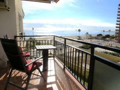 Photo for Ref: 228 - 1 bedroom beachfront apartment in Ronda 2, with pool
