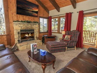 Photo for Pine View Heaven - 4BD/3BA/Panoramic Views of the Ski Slopes/WiFi/Foosball Table!