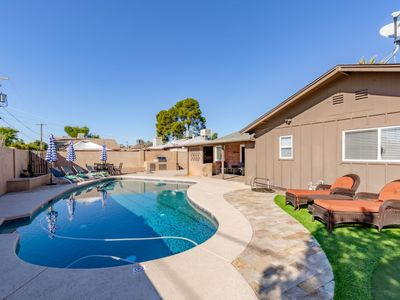 Photo for BRAND NEW TO VRBO! PRIVATE POOL, BRAND NEW FURNISHINGS AND BEST LOCATION!