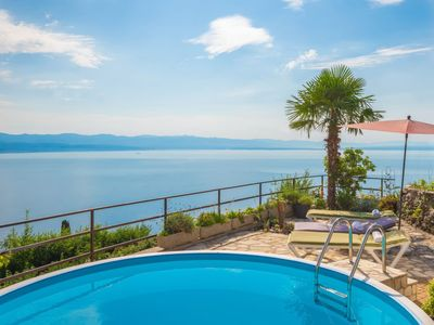 Photo for Vacation home Villa More in Lovran/Tuliševica - 11 persons, 5 bedrooms