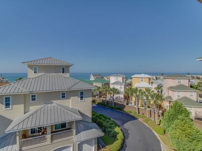 Photo for Four-story duplex w/ private elevator, shared pool & convenient beach access!
