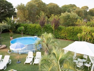 Photo for Holiday home with great garden, terrace and pool - Villa Relax
