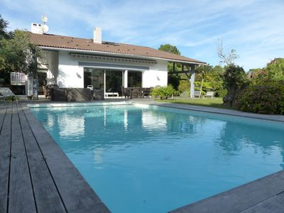 Photo for Villa Pyla 10 pers. in the pines with pool and garden