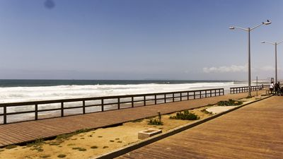 Photo for On the beach Tijuana comfortable apartment only a few steps from the sea