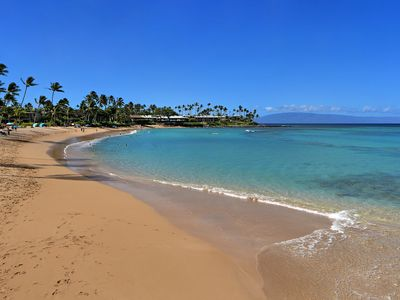 Photo for Maui Dream Location On Famous Napili Bay Steps To The Beach!: Napili Shores D227