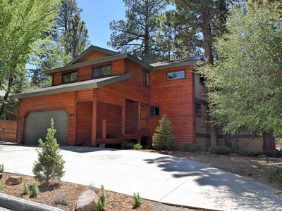 Photo for Alpine Woods: Luxury! Pool Table! Hot Tub! Covered Deck! 4 Master Suites! Log Features!