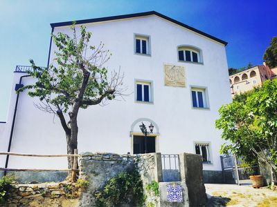 Photo for An old house just restored close to the sea and ideal for bikers / climbers
