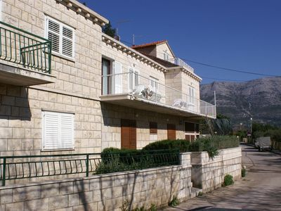 Photo for Studio flat with terrace Korčula (AS-4374-c)