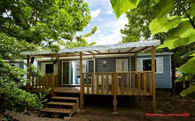 Photo for Camping Le Soleil de la Méditerranée **** - Air-conditioned Mobil Home 5 rooms 8 persons