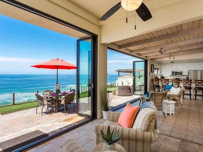 Photo for Oceanfront Retreat with a Private Putting Green & Patio