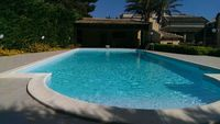 Very good villa with nice garden and very good big swimming pool