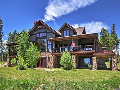 Photo for Tabernash Home w/ Game Room, Hot Tub & Mtn Views!