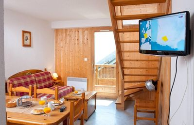 Photo for Wifi, 100m from resort center, fitness, swimming pool, terrace, balcony, tv, 36m²