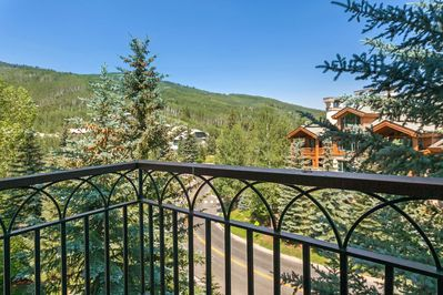 Take in the astounding views from your private balcony