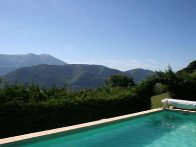 Photo for Yurt any comfort (1 to 20 pers) with swimming pool - Exceptional view