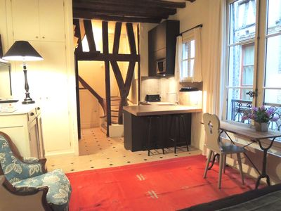 Photo for Cosy pied a terre in the heart of Saint Germain des Prés