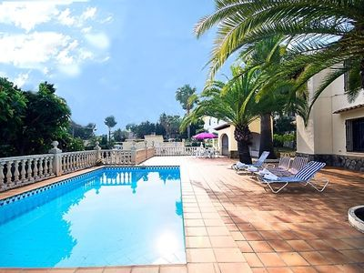 Photo for Club Villamar - Nice villa built on 2 separated levels, with private pool and situated in a very quiet area