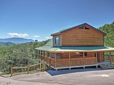 Photo for Peaceful Sevierville Cabin w/ 3 Decks & Mtn Views!