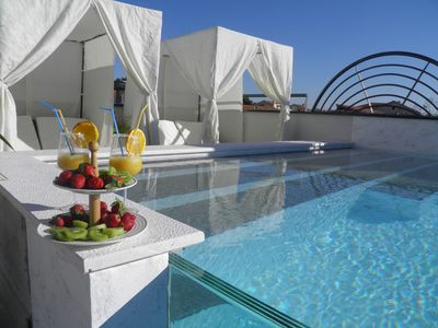 Photo for Rooftop pool & terrace - Villa Harmony