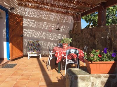 Photo for Comfortable house for families, with garden in the village of Biancareddu.