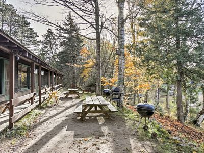 Photo for Lakefront Winchester Cabin w/ Deck, Grill & Dock!
