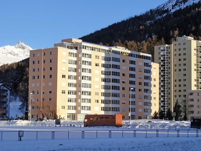 Photo for Apartment in the center of Saint Moritz with Lift, Internet, Balcony (61327)