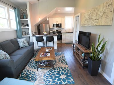 Photo for Comfy, Modern & Stylish Guesthouse in a Hip, Historic Neighborhood