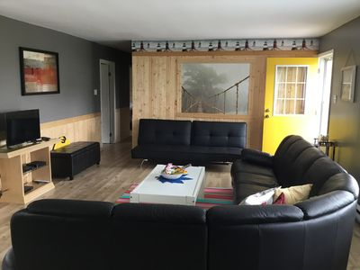 Large functional living room