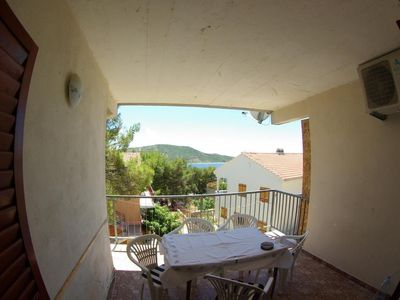 Photo for Two bedroom apartment with terrace and sea view Primošten