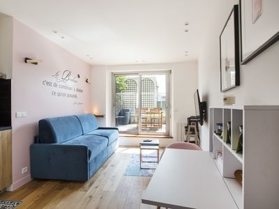 Photo for Lovely studio with terrace redone
