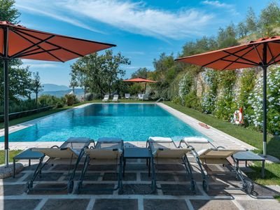 Photo for 6 Bedroom Villa Lucca   Villa Pino is a beautiful rambling stone residence on a lovely country estate,