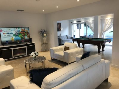 Photo for Luxury Home In Miami Near The Beach with heated pool!
