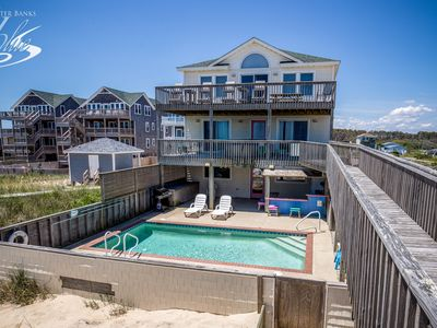Photo for Carolinian II | Oceanfront | Dog Friendly, Private Pool, Hot Tub