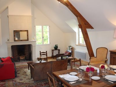 Photo for In the heart of the Loire Valley, cottage of 80 m² for 4 people.