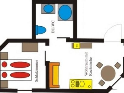 """Photo for Apartment """"Victoria"""" / 1 bedroom / shower, - Reindl, apartment"""