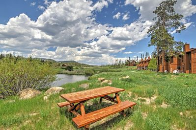 Elevate your Colorado escape when you book this marvelous Grand Lake vacation rental condo!