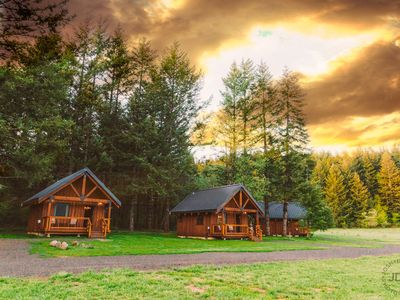 Photo for Cabins at The Wind Mountain Ranch