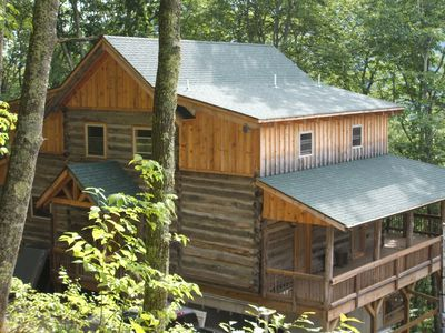 Photo for Entire camp available! Amazing view!  Ski, Hike, Relax