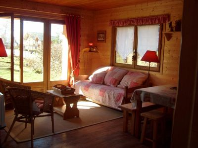 Photo for Nice 3 bedroom apartment with beautiful exposure and near the center and ski slopes