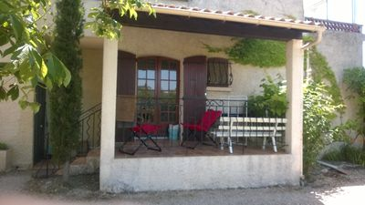 Photo for For rent T2 29 m2 in property of 5000 m2 on the edge of the Verdon