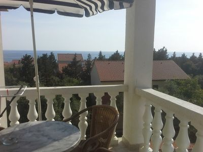 Photo for Apartment 43 m from the center of Novalja with Air conditioning, Parking, Balcony (638500)