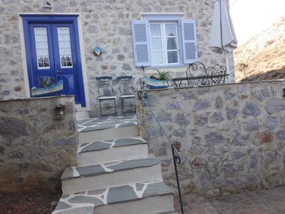 Photo for Cottage Nefeli Theoktista-Built By  A Detached Stone House Near Sea Side