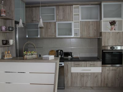 Brand new, modern, spacious and family friendlly apartment