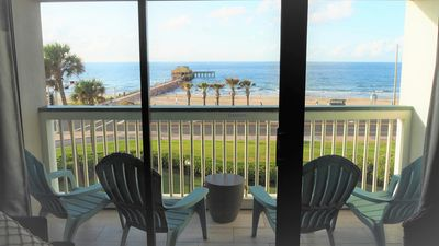 Photo for New Listing! Casa Del Mar #302! Gorgeous Top Floor Front Row Condo!!