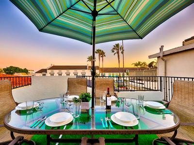 Photo for 15% OFF to AUG 15- Perfect Balboa Beach House - Private Rooftop Dining Deck!