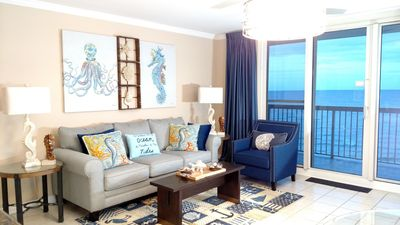 Photo for Elegant Oceanfront Condo at Pelican Beach. Newly Renovated. Spectacular views!