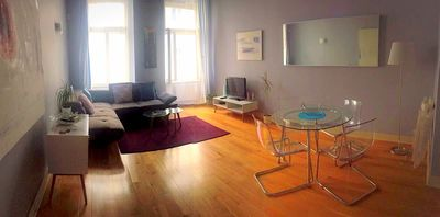 Beautiful and cozy place in Prague's center! 2  bathrooms~ Quiet street ~